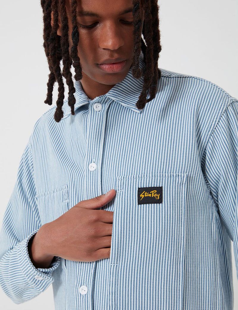 Stan Ray Prison Shirt - Bleached Hickory