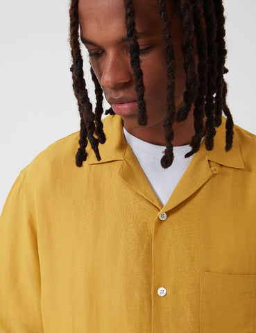 Portuguese Flannel Catown Shirt - Vintage Yellow