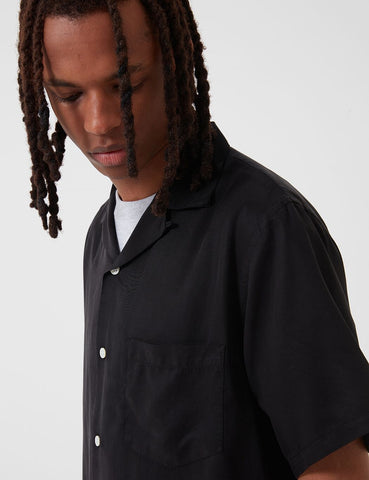 Portuguese Flannel Dogtown Shirt - Black