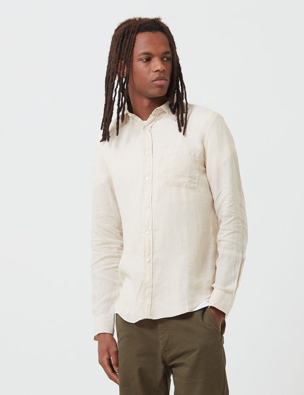 Portuguese Flannel Linen Shirt - Raw