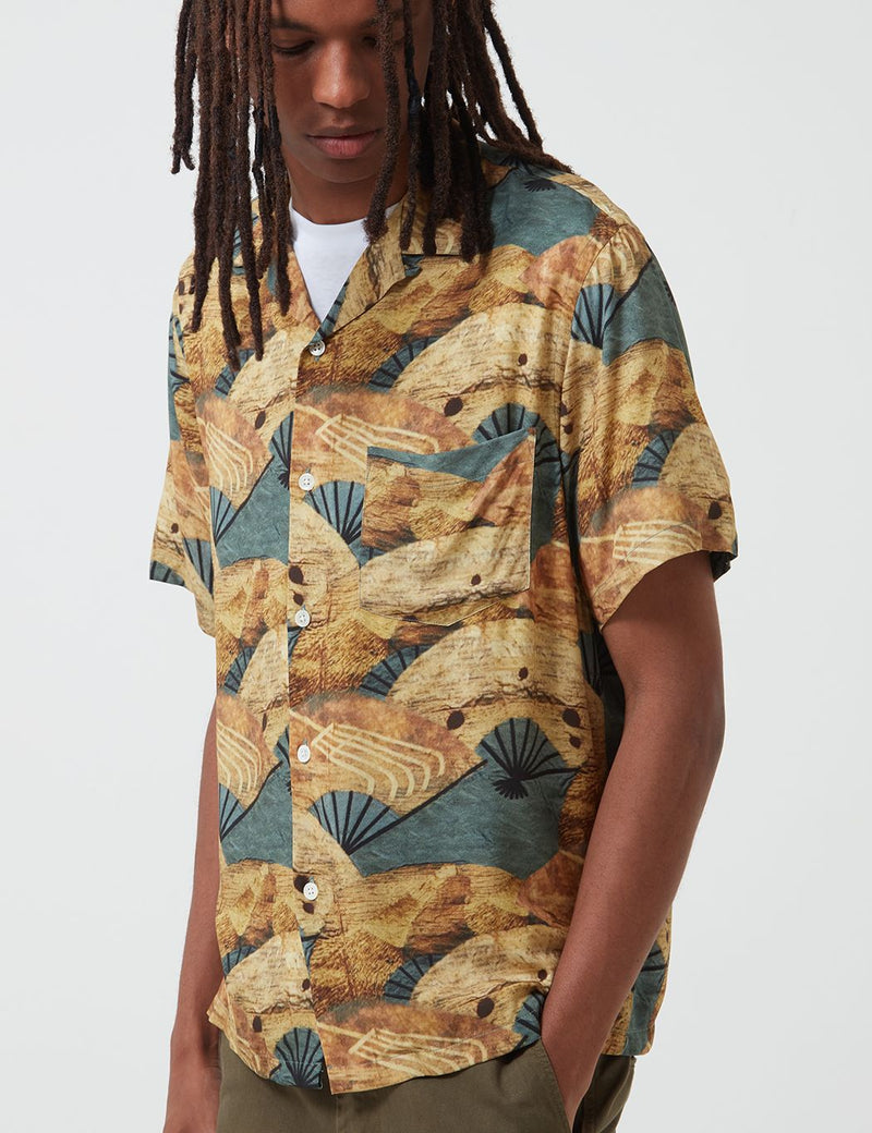 Portuguese Flannel Fukuse Shirt - Yellow