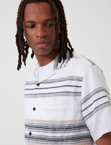 Portuguese Flannel Native Shirt - White