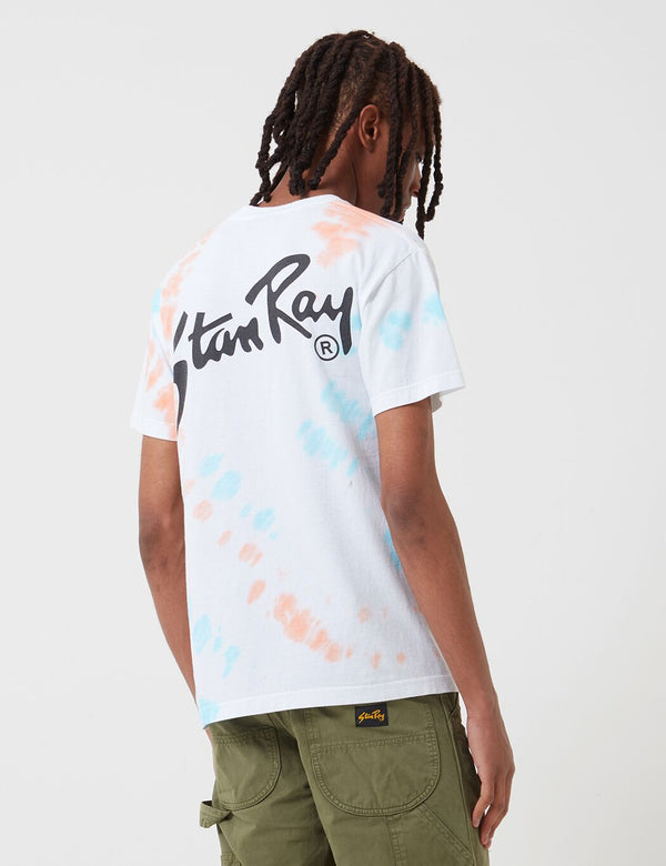 Stan Ray OG Stan T-Shirt - Coral/Parrot