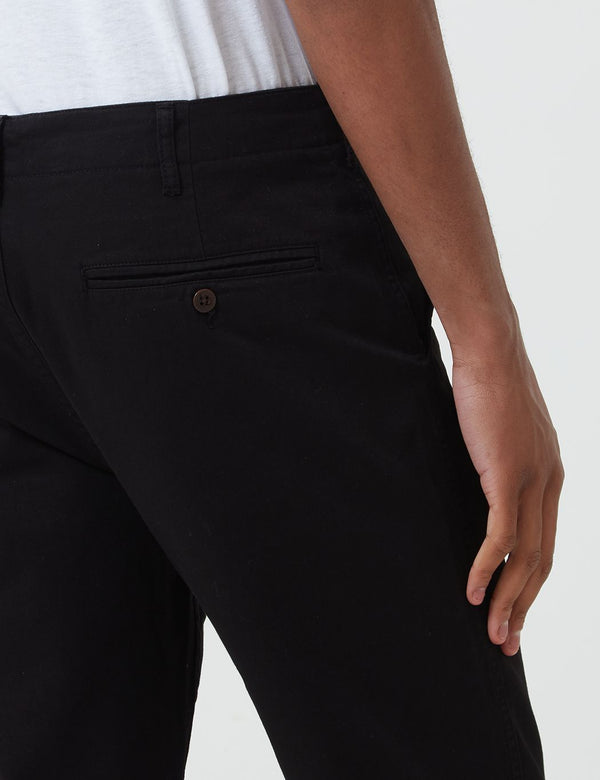 Portuguese Flannel Labura Trousers - Black
