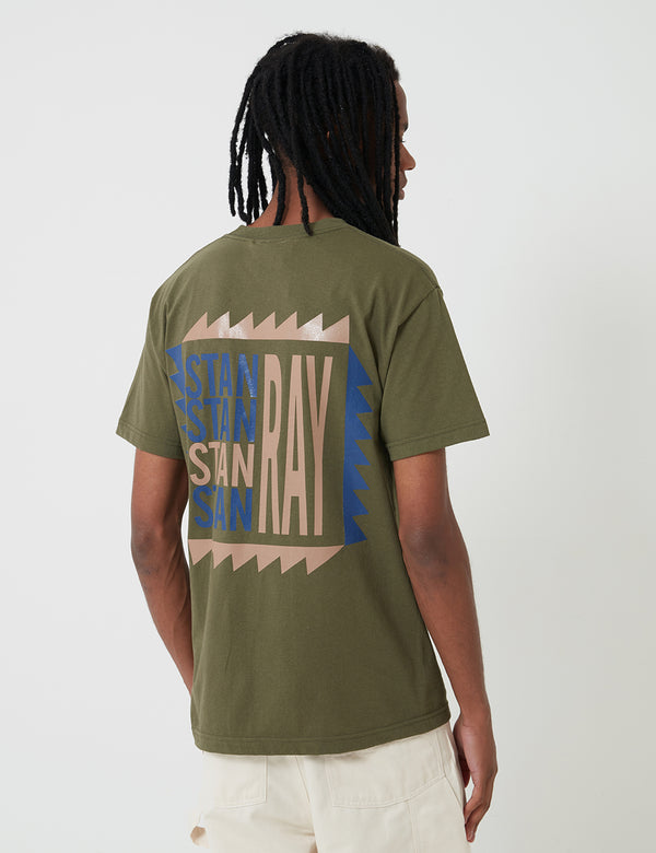 Stan Ray Terry T-Shirt - Olive