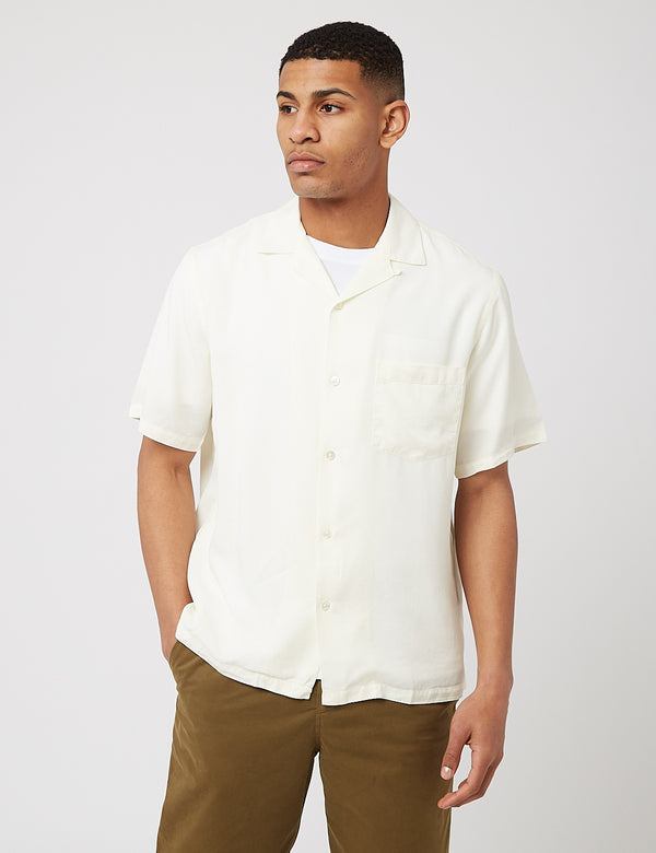 Potuguese Flannel Dogtown Shirt - Off White