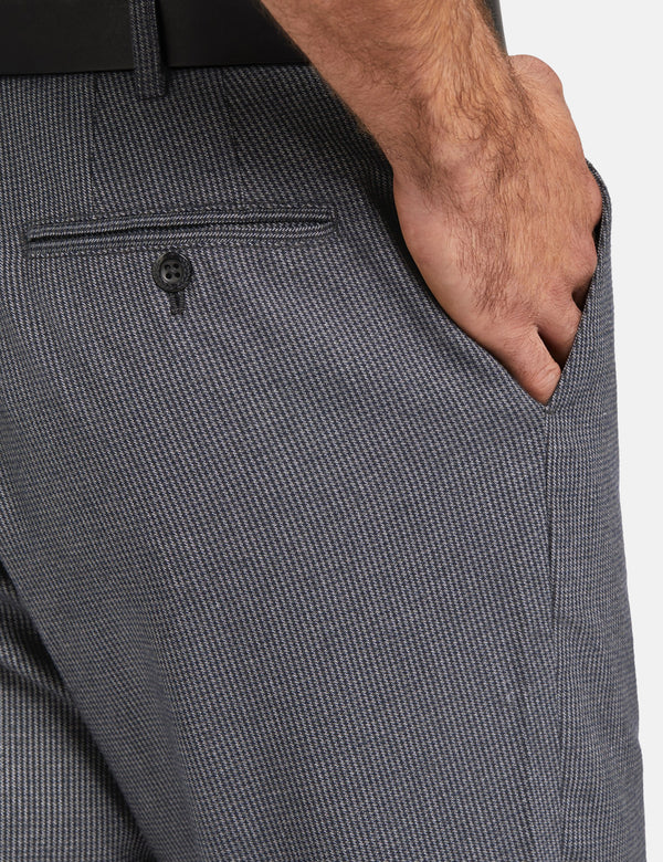 Fred Perry x Miles Kane Tailored Hosen - Gunmetal