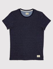 Suit Bayswater Polka Dot T-Shirt - Navy Blue