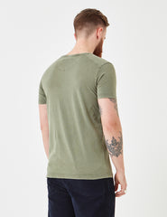 Suit Bart Sun Bleached T-Shirt - Dusty Green