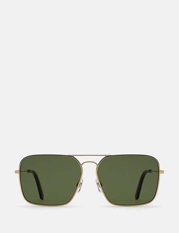 Super Iggy Sunglasses - Green & Havana
