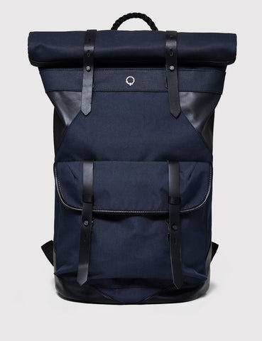 Stighlorgan Ronan Rolltop Laptop Backpack - Navy