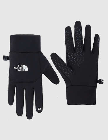 North Face Etip Gloves - Black