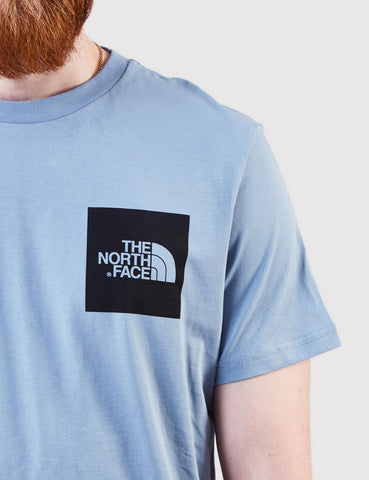 North Face Fine T-Shirt - Faded Denim