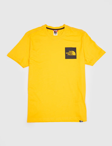 North Face Fine Pocket T-Shirt - Zinnia Orange