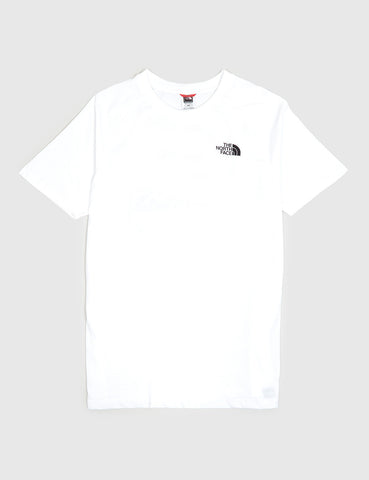 North Face Faces T-Shirt - White