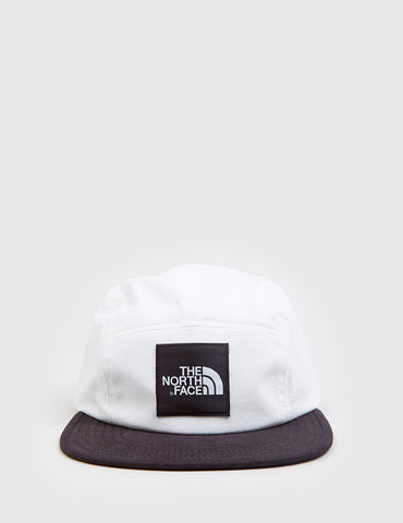 North Face TNF 5-Panel Cap - White