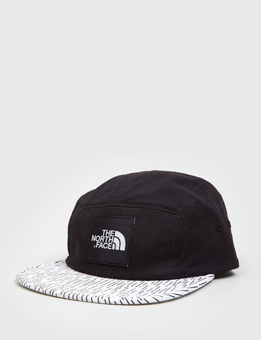 North Face TNF 5-Panel Cap - Black