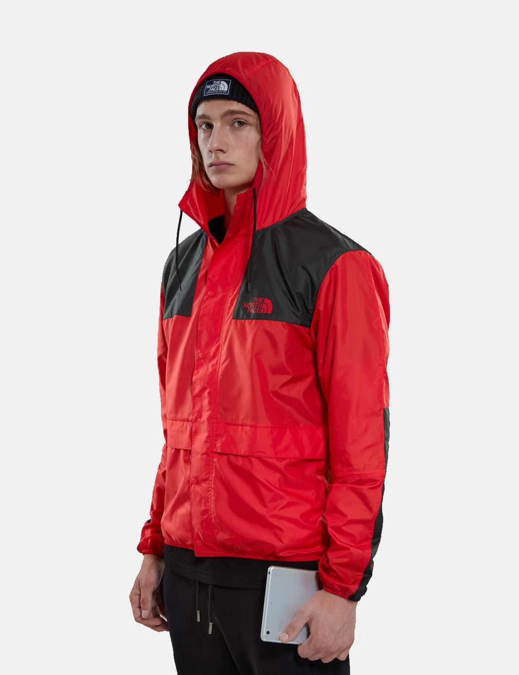 North Face 1985 Sea Cel Mountain Jacket - Red Black  feadd72a5aa9