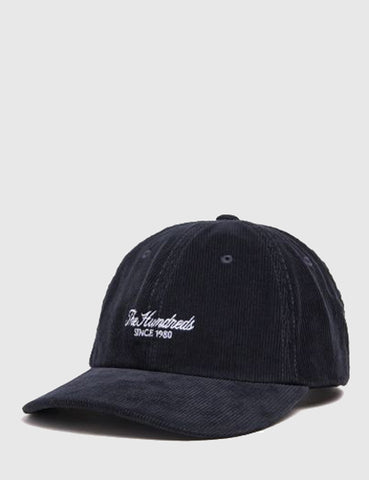 The Hundreds Plain Cord Dad Cap - Black