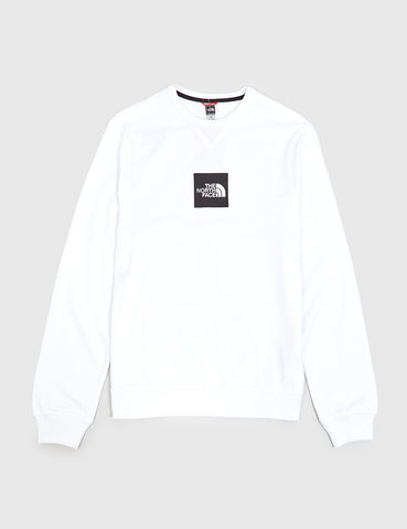 North Face Fine Sweatshirt - White