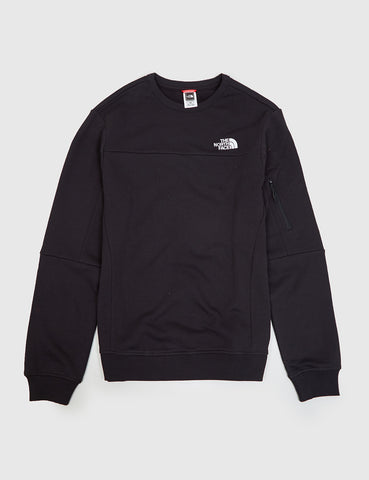 North Face Z-Pocket Sweatshirt - Black