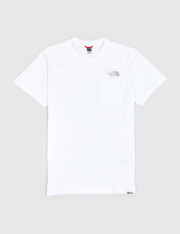 North Face Z-Pocket T-Shirt - White