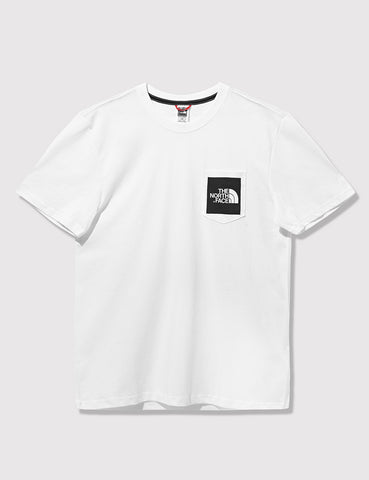 North Face Fine Pocket T-Shirt - White