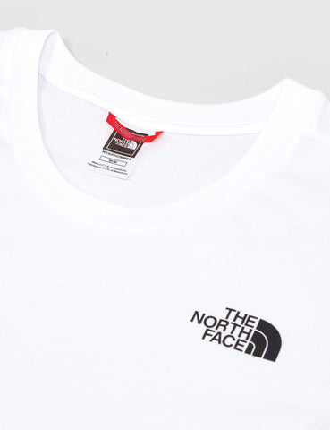 North Face Red Box T-Shirt - White