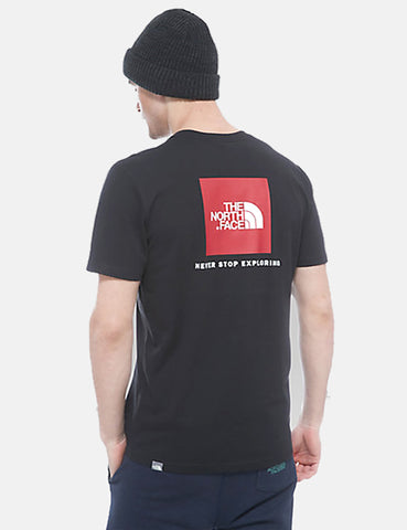 North Face Red Box T-Shirt - Black