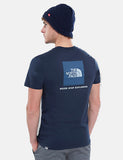 North Face Red Box T-Shirt - Urban Navy