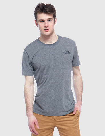 North Face Simple Dome T-Shirt - Grey Heather