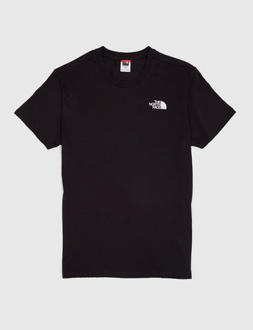 North Face Simple Dome T-Shirt - Black