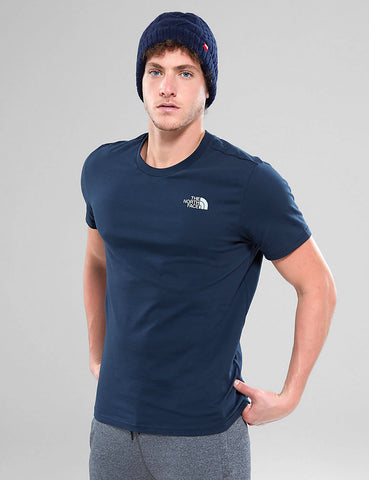 North Face Simple Dome T-Shirt - Urban Navy
