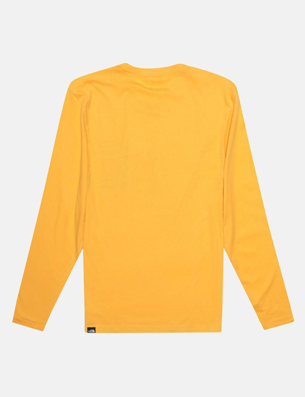 North Face Fine Long Sleeve T-Shirt - TNF Yellow