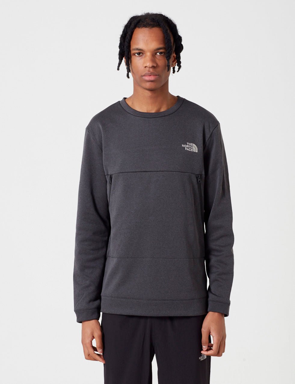 North Face Black Label Tech Crew Sweatshirt in TNF Black 07cd2842a