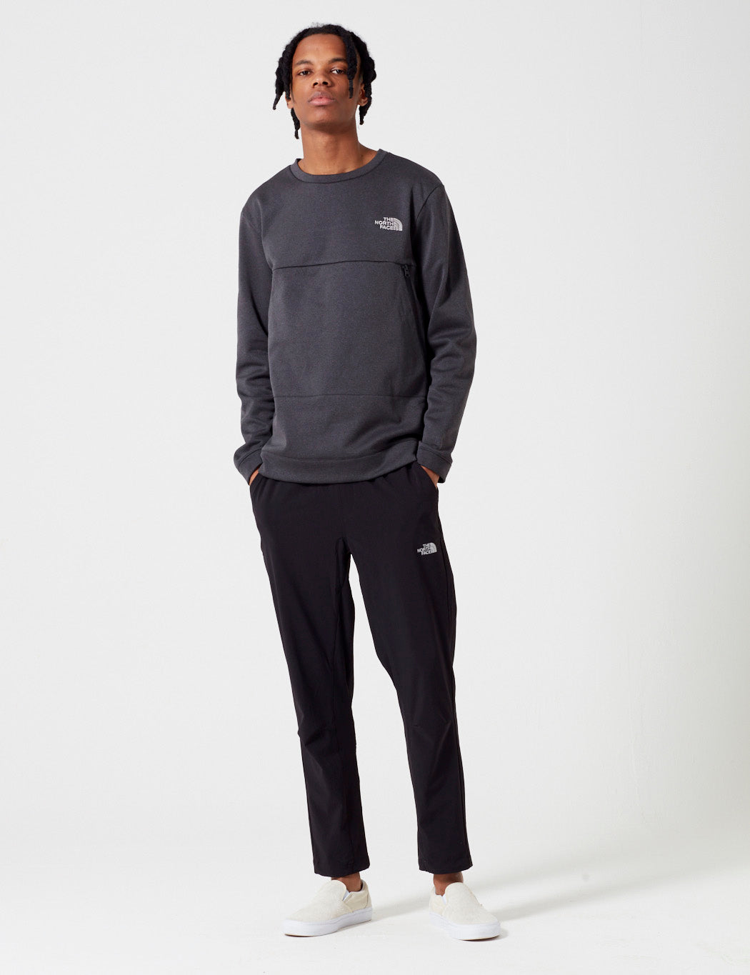 North Face Black Label Tech Crew Sweatshirt in TNF Black 0f412a84a0da