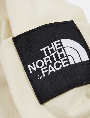 North Face Fine 2 Long Sleeve T-Shirt - Vintage White