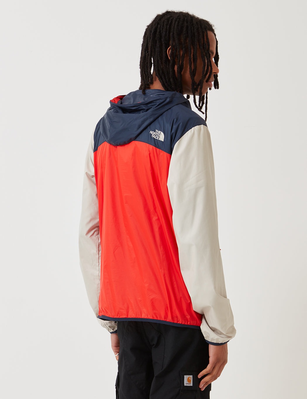 f661facc3 North Face Fanorak Pullover Jacket - Fiery Red/Urban Navy/PYTB