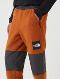 North Face 'Black Label' Denali Fleece Pant - Caramel Cafe/TNF Black