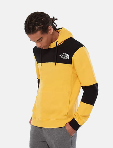 North Face Himalayan Hooded Sweatshirt - TNF Yellow/Black