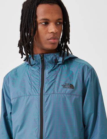 North Face Novelty Cyclone Jacket - Iridescent Multi Blue
