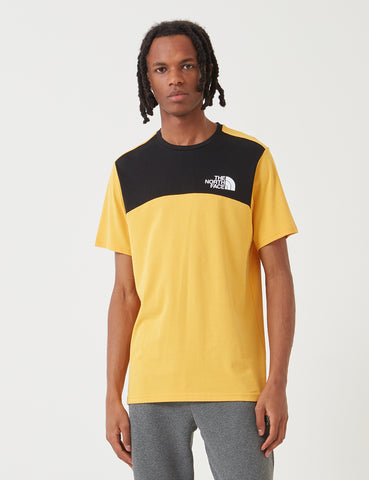 North Face Himalayan T-Shirt - TNF Yellow/Black