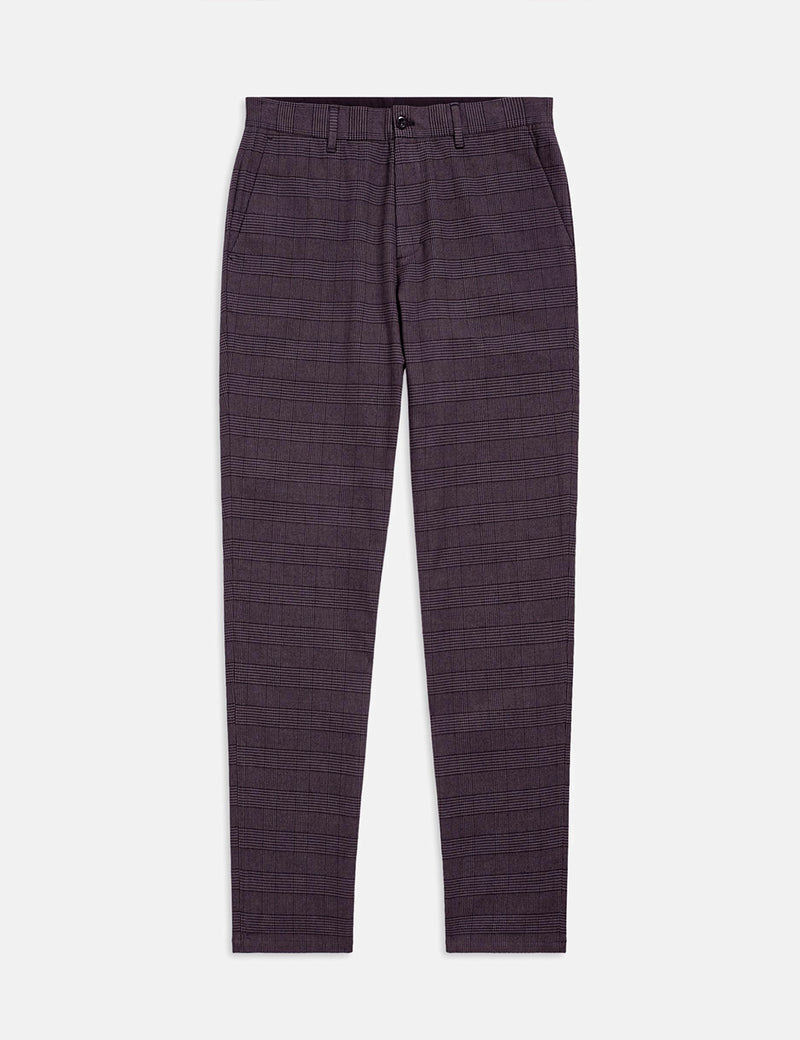 Pantalon Fred Perry Check - Noir