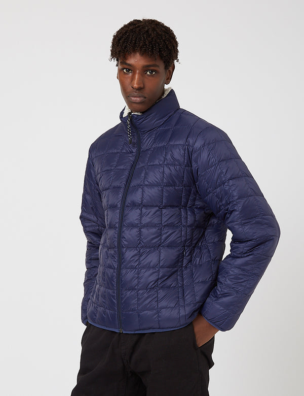 Taion Down x Boa Reversible Jacket - Navy/Ivory