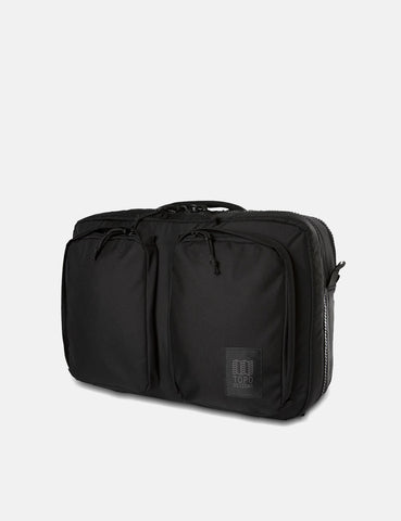 Topo Designs Global Briefcase (3-Day Travel Bag) - Ballistic Black