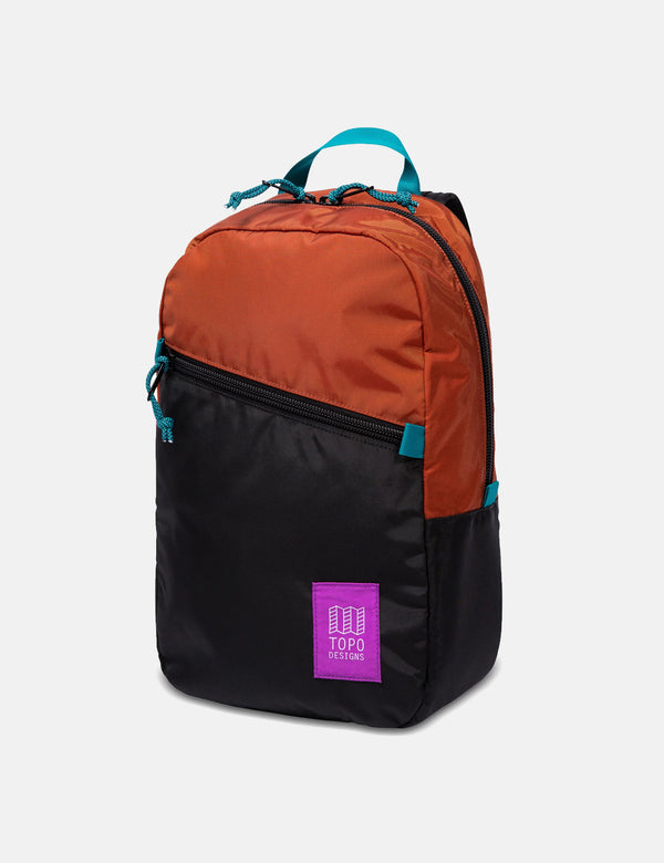Topo Designs Light Pack - Clay/Black
