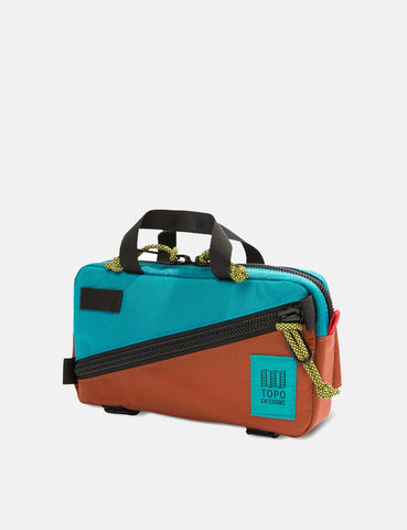 Topo Designs Mini Quick Pack - Turquoise/Clay