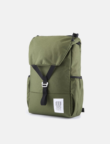 Topo Designs Y-Pack Rucksack - Olive Green