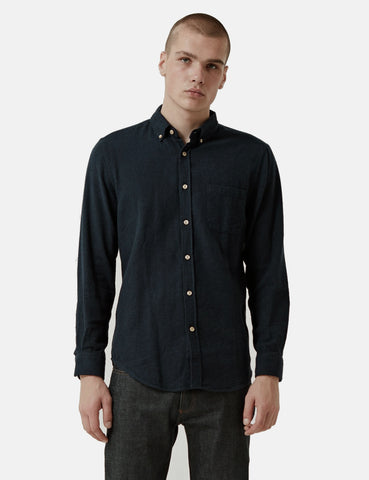 Portuguese Flannel Teca Shirt - Black