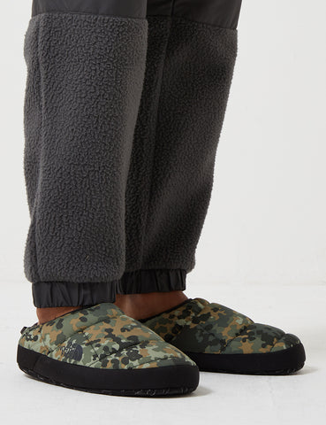 North Face NSE Tent Slippers III - Tarmc Green